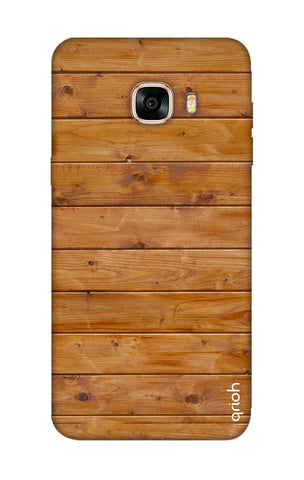 Natural Wood Samsung C9 Pro Cases & Covers Online