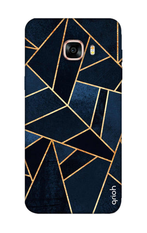 Abstract Navy Samsung C9 Pro Cases & Covers Online
