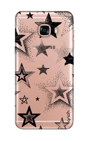 Black Stars Samsung C9 Pro Cases & Covers Online