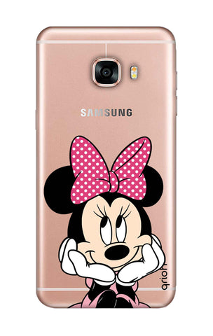 Minnie In Deep Thinking Samsung C9 Pro Cases & Covers Online