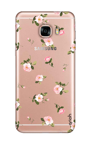 Pink Rose All Over Samsung C9 Pro Cases & Covers Online