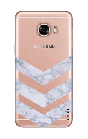 Marble Chevron Samsung C9 Pro Cases & Covers Online