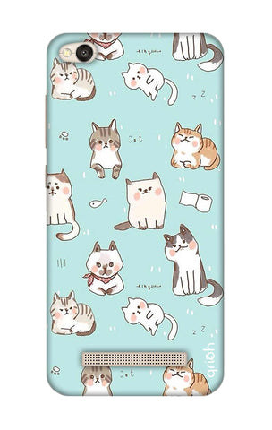 Cat Kingdom Xiaomi RedMi 4A Cases & Covers Online