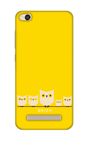 Owl Family Xiaomi RedMi 4A Cases & Covers Online