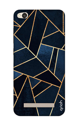 Abstract Navy Xiaomi RedMi 4A Cases & Covers Online