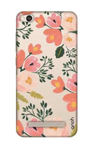 Painted Flora Xiaomi RedMi 4A Cases & Covers Online