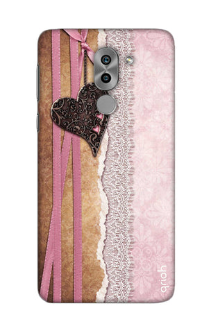 Heart in Pink Lace Honor 6X Cases & Covers Online