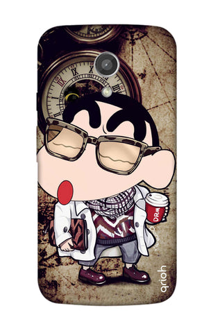 Nerdy Shinchan Motorola Moto G2 Cases & Covers Online