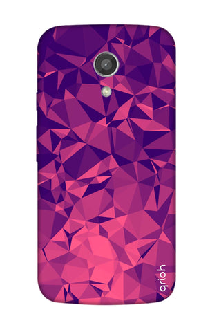 Purple Diamond Motorola Moto G2 Cases & Covers Online