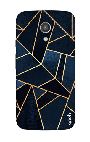 Abstract Navy Motorola Moto G2 Cases & Covers Online