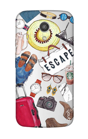 Travel Doodle Motorola Moto G2 Cases & Covers Online