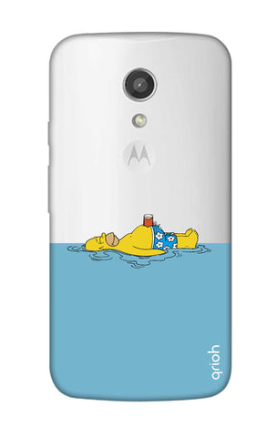 Simpson Chill Motorola Moto G2 Cases & Covers Online
