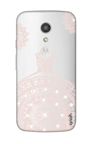 Bling Wedding Gown Motorola Moto G2 Cases & Covers Online