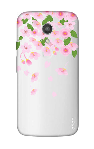 Pretty Pink Floral Motorola Moto G2 Cases & Covers Online