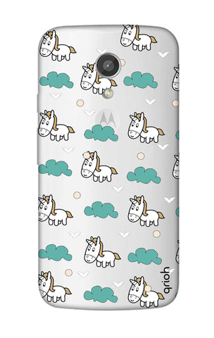 Unicorn In The Clouds Motorola Moto G2 Cases & Covers Online