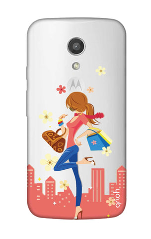 Shopping Girl Motorola Moto G2 Cases & Covers Online