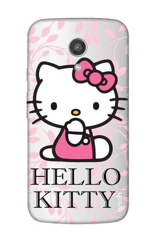 Hello Kitty Floral Motorola Moto G2 Cases & Covers Online