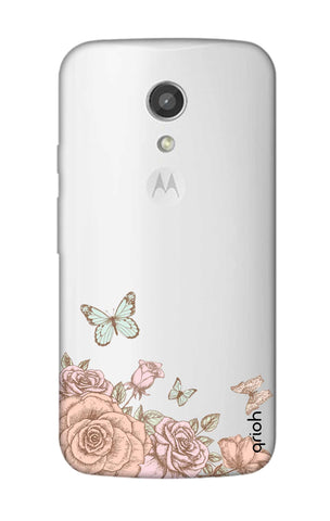 Flower And Butterfly Motorola Moto G2 Cases & Covers Online