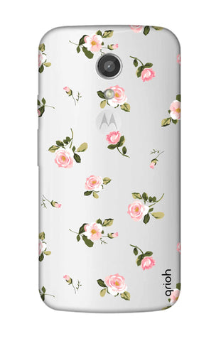 Pink Rose All Over Motorola Moto G2 Cases & Covers Online
