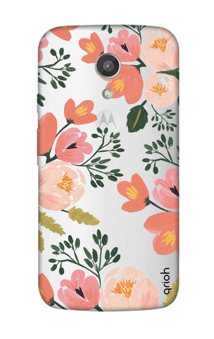 Painted Flora Motorola Moto G2 Cases & Covers Online