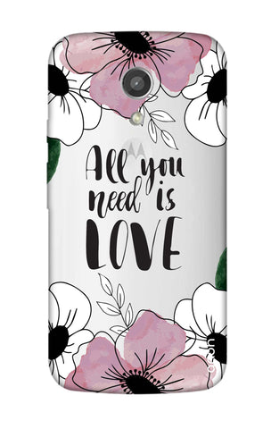 All You Need is Love Motorola Moto G2 Cases & Covers Online