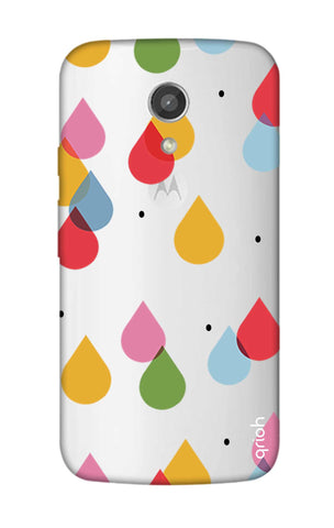 Colourful Drops Motorola Moto G2 Cases & Covers Online