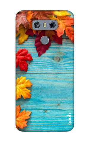 Fall Into Autumn LG G6 Cases & Covers Online