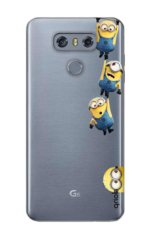 Falling Minions LG G6 Cases & Covers Online