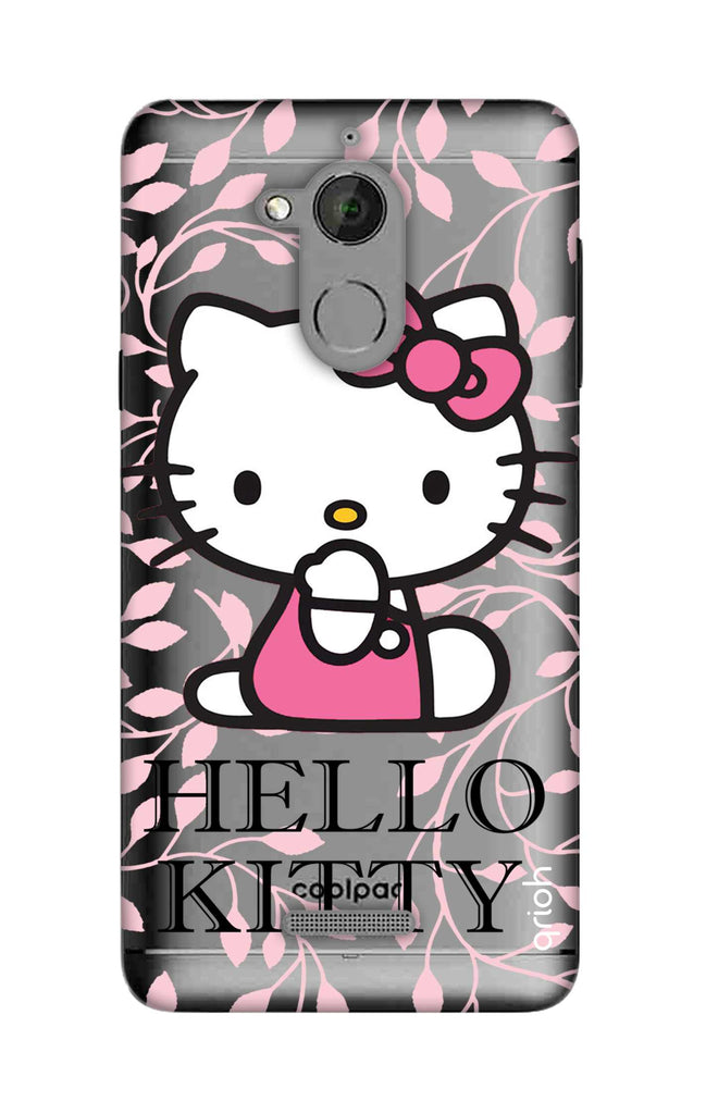 best sneakers 1936f ab419 Hello Kitty Floral Case for Coolpad Note 5