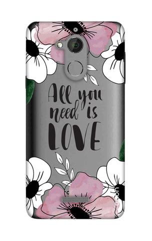 All You Need is Love Coolpad Note 5 Cases & Covers Online