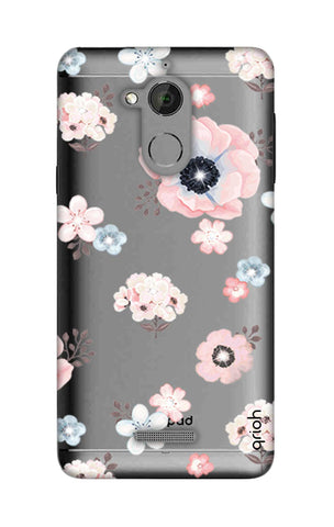 Beautiful White Floral Coolpad Note 5 Cases & Covers Online