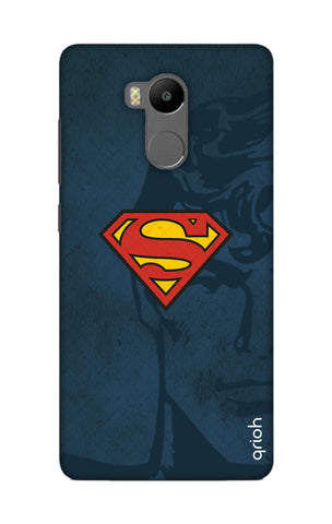 Wild Blue Superman Xiaomi RedMi 4 Prime Cases & Covers Online