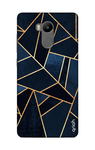Abstract Navy Xiaomi RedMi 4 Prime Cases & Covers Online