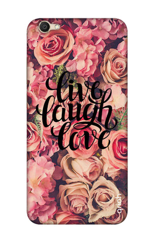 Floral Live, Laugh, Love Vivo V5 Cases & Covers Online
