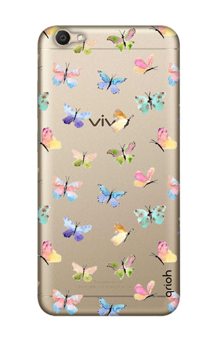 Painted Butterflies Vivo V5 Cases & Covers Online