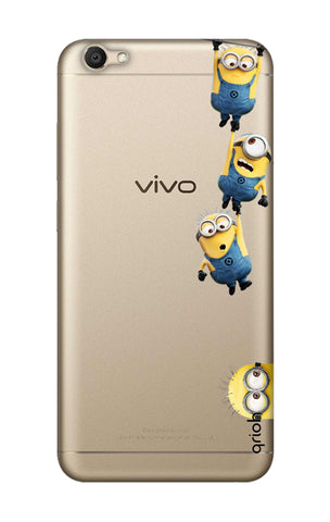 Falling Minions Vivo V5 Cases & Covers Online
