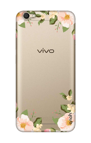 Flower In Corner Vivo V5 Cases & Covers Online
