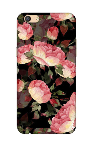 Watercolor Roses Oppo F3 Cases & Covers Online