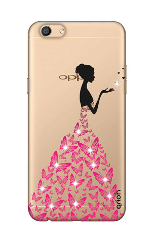 Princess Case With Heart Oppo F3 Cases & Covers Online