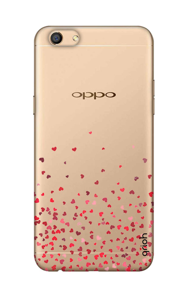 best service 73ca9 e0c56 Floating Hearts Case for Oppo F3
