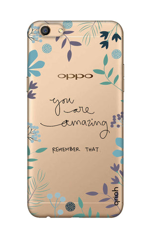 You're Amazing Oppo F3 Cases & Covers Online