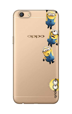 Falling Minions Oppo F3 Cases & Covers Online