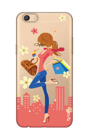 Shopping Girl Oppo F3 Cases & Covers Online