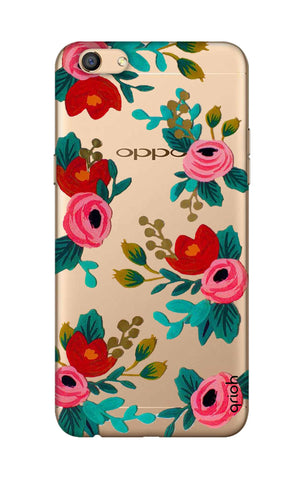 Red Floral Oppo F3 Cases & Covers Online