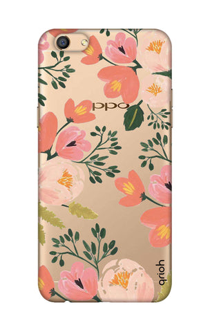 Painted Flora Oppo F3 Cases & Covers Online