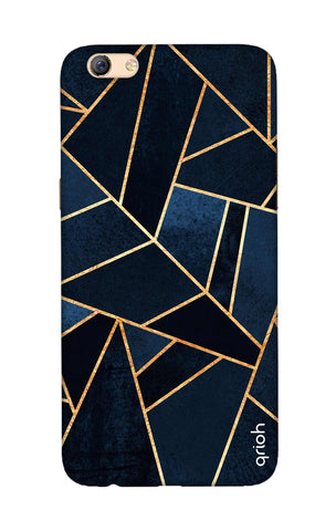 Abstract Navy Oppo F3 Plus Cases & Covers Online
