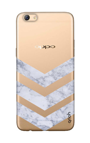 Marble Chevron Oppo F3 Plus Cases & Covers Online