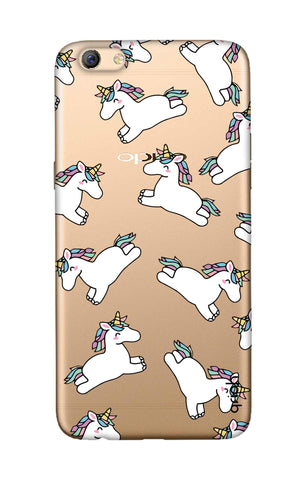 Jumping Unicorns Oppo F3 Plus Cases & Covers Online