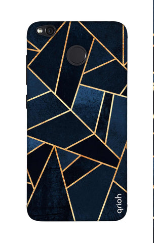 Abstract Navy Xiaomi RedMi 4 Cases & Covers Online