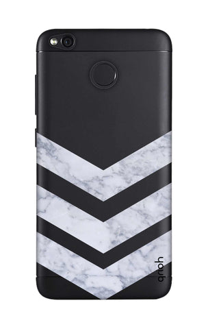 Marble Chevron Xiaomi RedMi 4 Cases & Covers Online